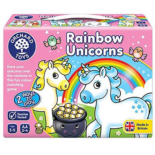 Orchard Toys -  Rainbow Unicorns Game