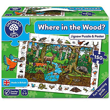 Orchard Toys - Where in the Wood Jigsaw