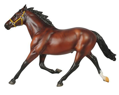 Breyer 1743  FOILED AGAIN RICHEST HARNESS HORSE IN HISTORY