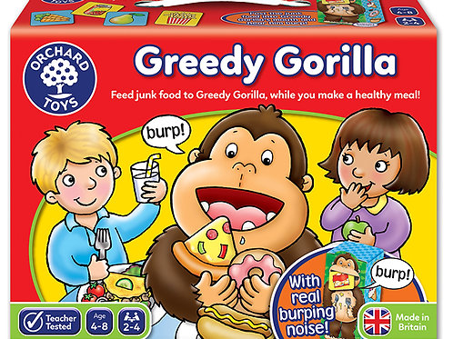 Orchard Toys -  Greedy Gorilla Game