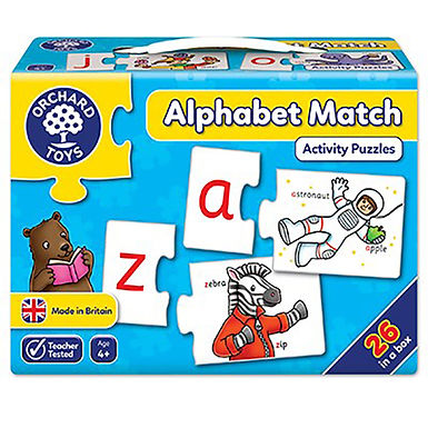 Orchard Toys - Alphabet Match Jigsaw Puzzle