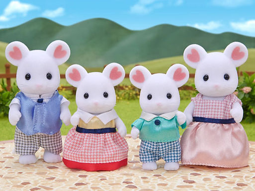 5308 Marshmallow Mouse Family