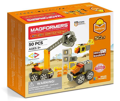 Magformers Amazing 50-in-1 Construction Set