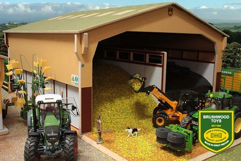 Brushwood Cover To Monster Silage Clamp