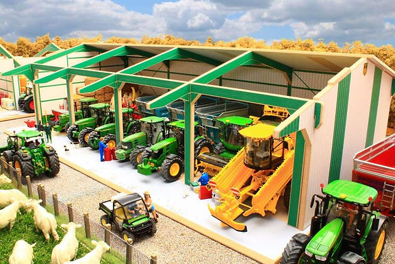Brushwood Euro1 Tractor & Machinery Shed