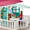 Thumbnail: SCHLEICH 42416 LARGE HORSE STABLE WITH HOUSE AND STABLE