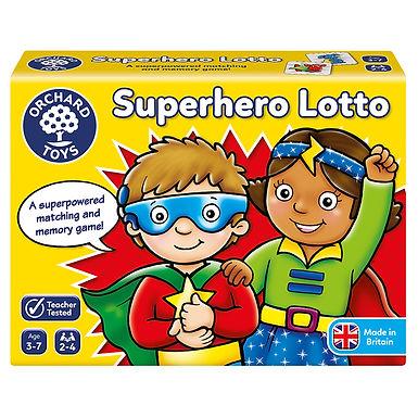 Orchard Toys - Superhero Lotto Game