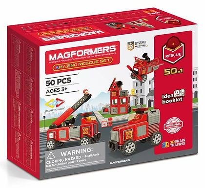 Magformers Amazing 50-in-1 Rescue Set