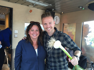 OUR VISIT TO THE 2FM ROADCASTER WITH NICKI BYRNE