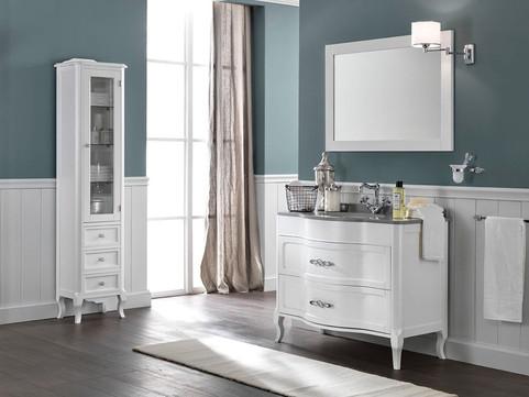 Rachele Pearly White Classic Vanity Unit