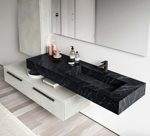 Moon Nero Marquinia Vanity Unit