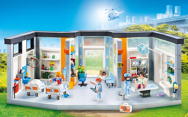 Playmobil 70191 Furnished Hospital Wing