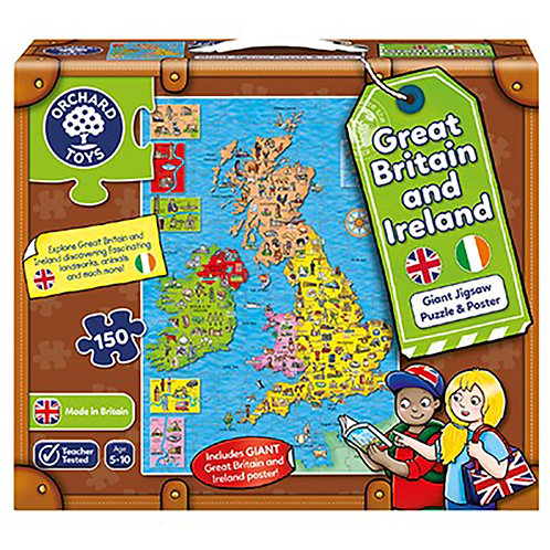 Orchard Toys - Great Britain & Ireland Puzzle