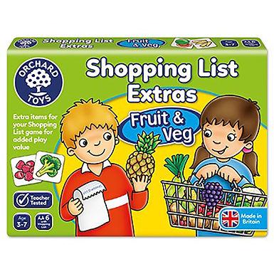 Orchard Toys - Shopping List Extras - Fruit & Veg