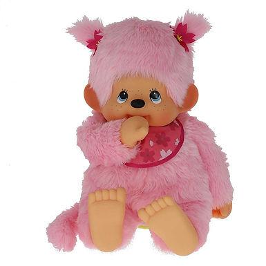 MONCHHICHI 80 cm Girl Cherry Blossom pink