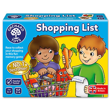Orchard Toys - Shopping List