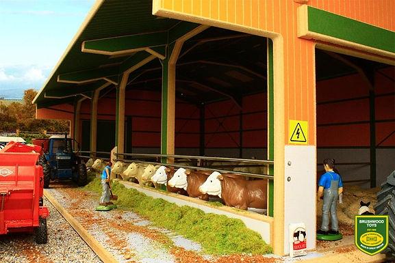 Brushwood Euro2 Euro Style Livestock Shed