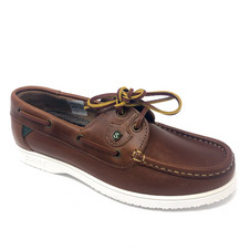 Gaby Deck Shoe Tan