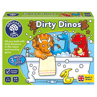 Orchard Toys -  Dirty Dinos Game