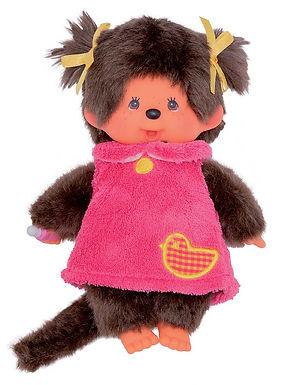 MONCHHICHI 20 cm Girl Pink Fluffy