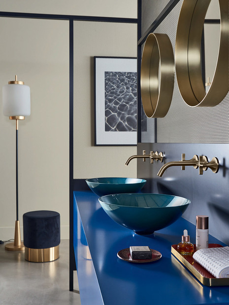 Alape Aqua Indigo Bathroom Bowl Basin