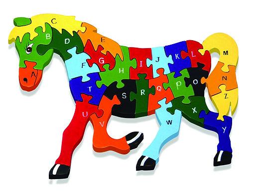 Alphabet Horse