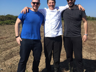 EXECUTIVE CHEF ALBERTO ROSSI FROM INTERCONTINAL HOTEL VISITS DRUMMOND HOUSE
