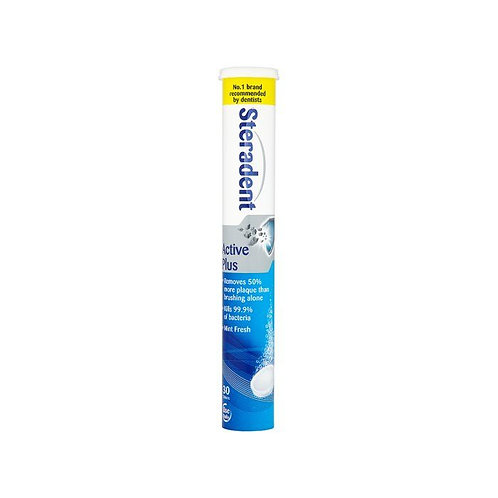 Steradent Active Plus Tablets x 30