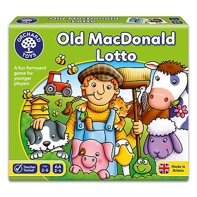 Orchard Toys -  Old Macdonald Lotto Game