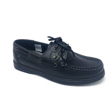 GABY Deck Shoe Black