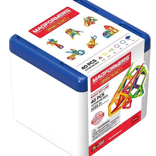 Magformers Basic 40 + Box