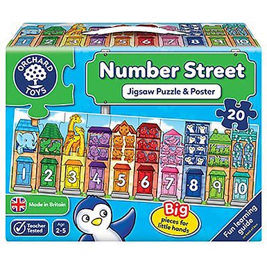 Orchard Toys - Number Street Jigsaw Puzzle
