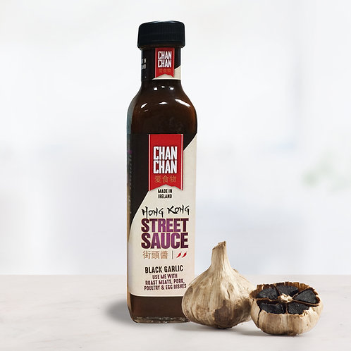 Hong Kong Street Sauce Black Garlic 240ml