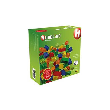 Hubelino 60-Piece Building Block Set