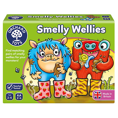 Orchard Toys -  Smelly Wellies Game
