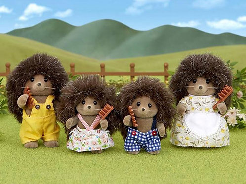 Sylvanian's Hedgehog Family