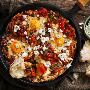 Chilli & Tomato Baked Eggs