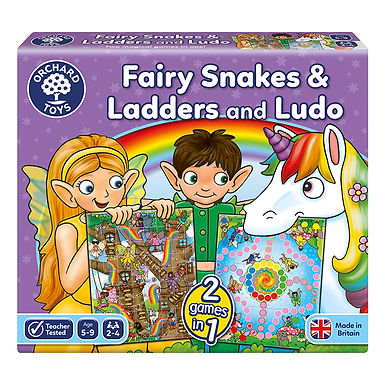 Orchard Toys - Fairy Snakes & Ladders and Ludo Board Game