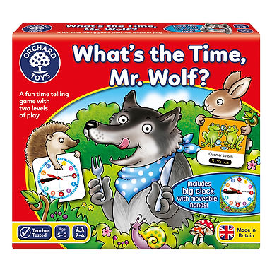 Orchard Toys - What's the Time, Mr Wolf Game