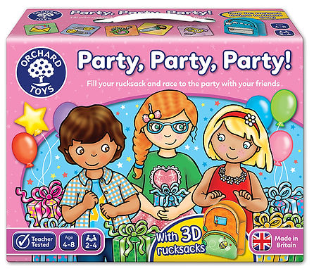Orchard Toys -  Party, Party, Party Board Game