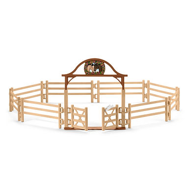 SCHLEICH 42434 PADDOCK WITH ENTRY GATE