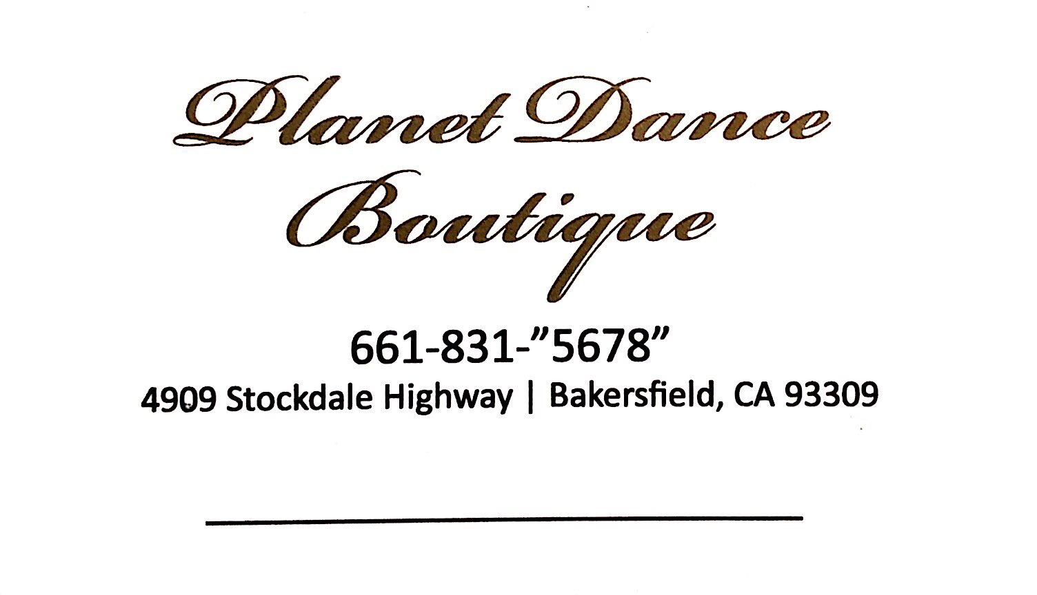 Planet Dance Boutique