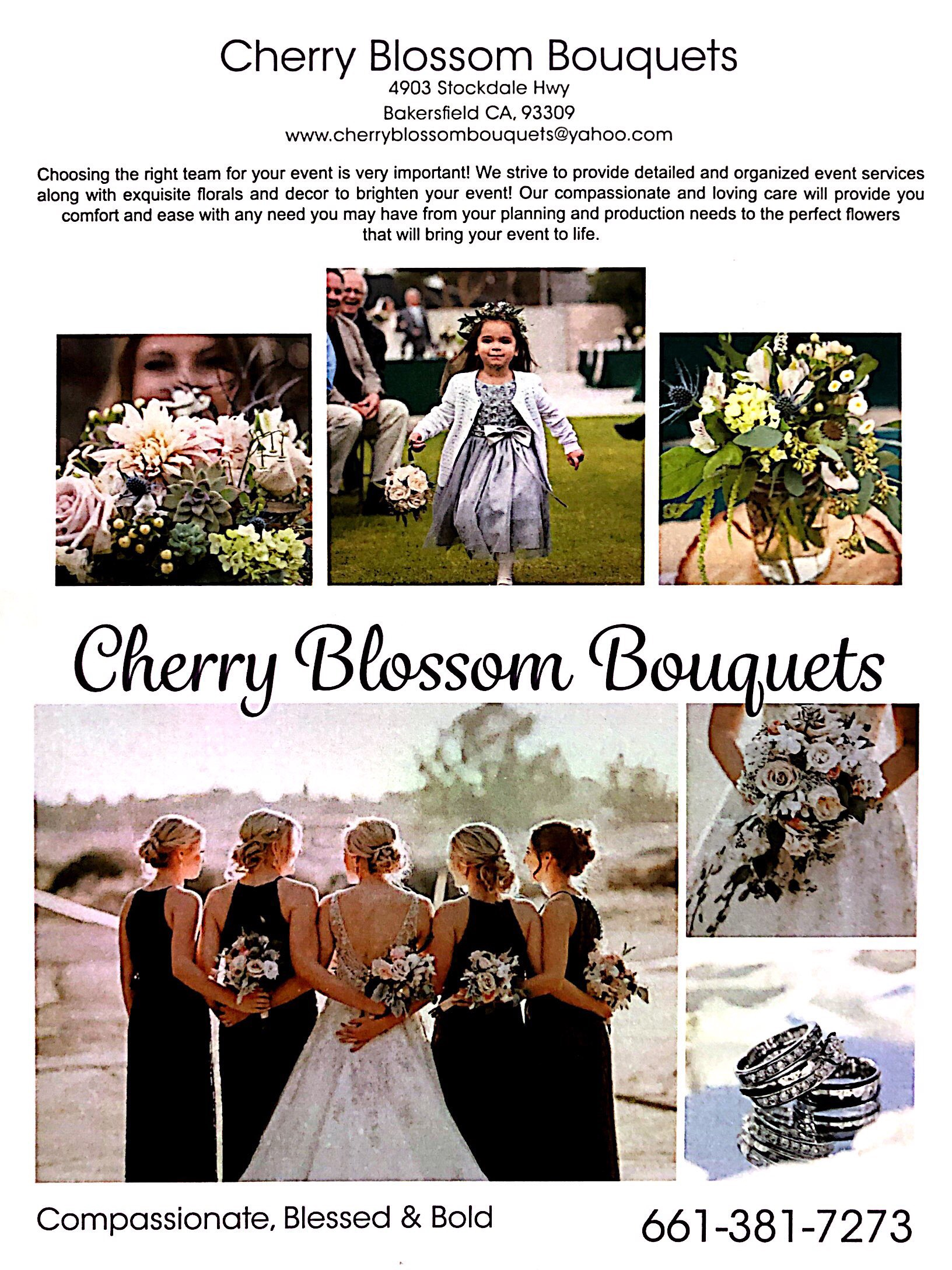 Cherry Blossom Bouquets