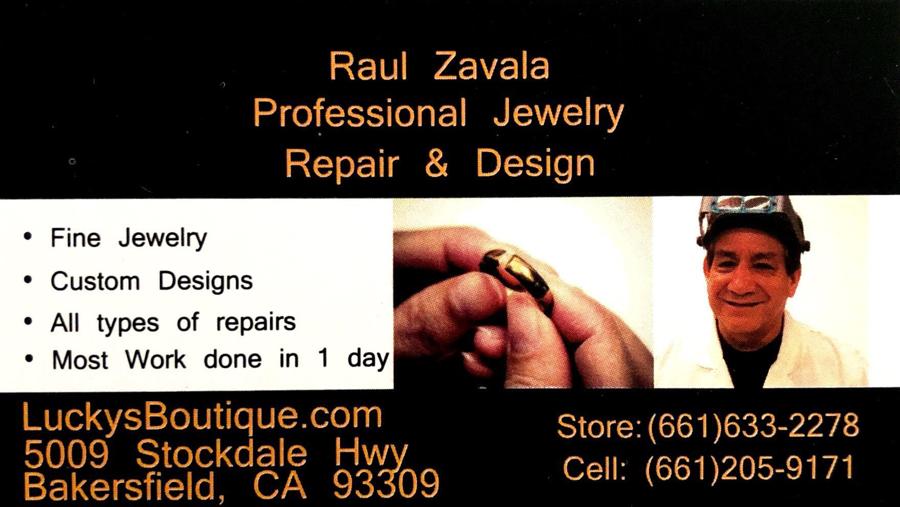 Raul Zavala Professional Jewelry Repair