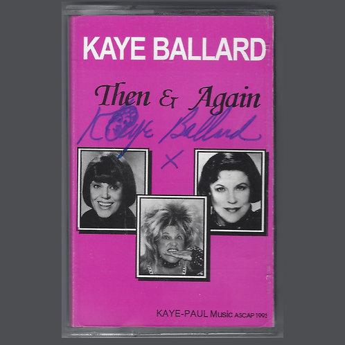 Then & Again audio cassette