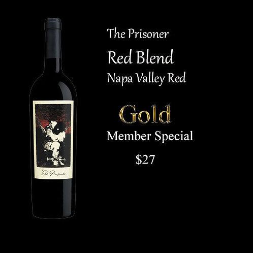 The Prisoner Red Blend  Gold Member pricing