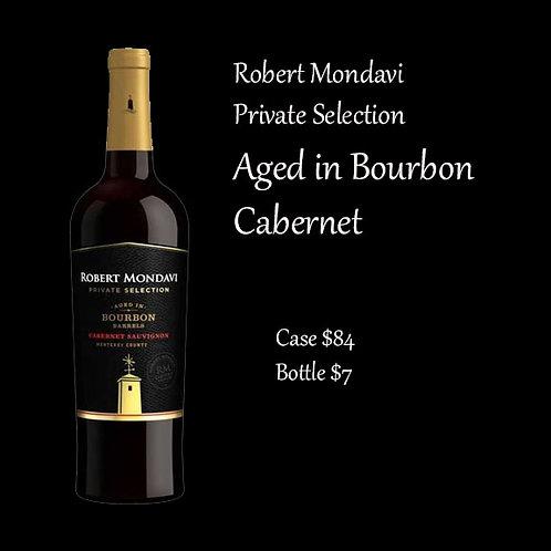 Gold Robert Mondavi Cabernet