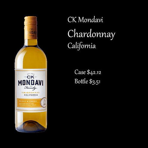 Gold CK Mondavi Chardonnay