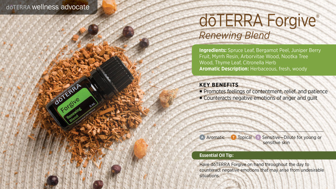 doTERRA Oil of Forgiving