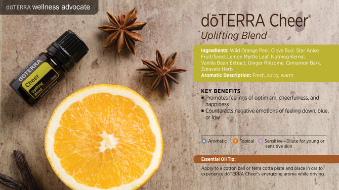 doTERRA Oil of Cheer